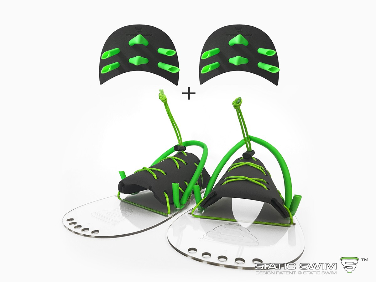 STRENGTH 1 Swimming fin & paddle SET