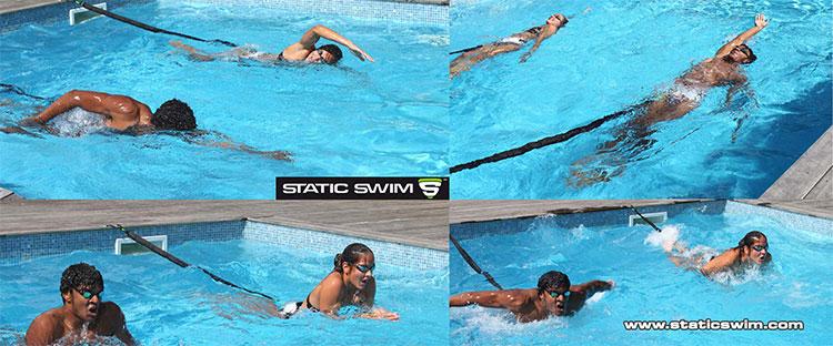 Pratiquer les 4 nages avec STATIC SWIM™