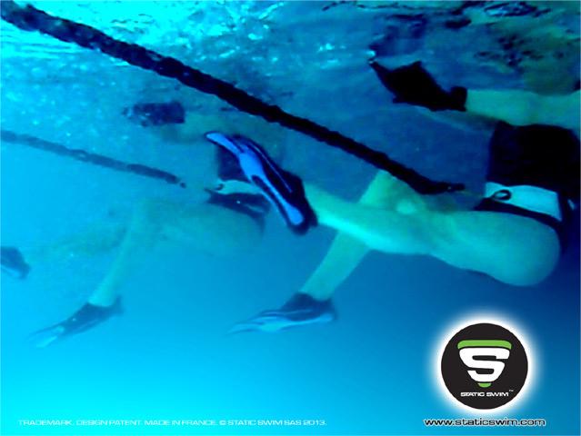 Aquapalming en salle de sport
