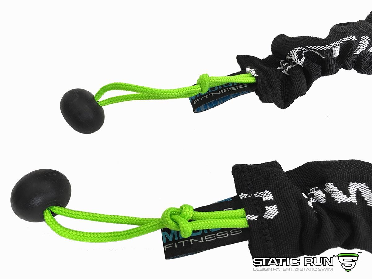 Pair of LIGHT STATIC RUN™ elastic bands