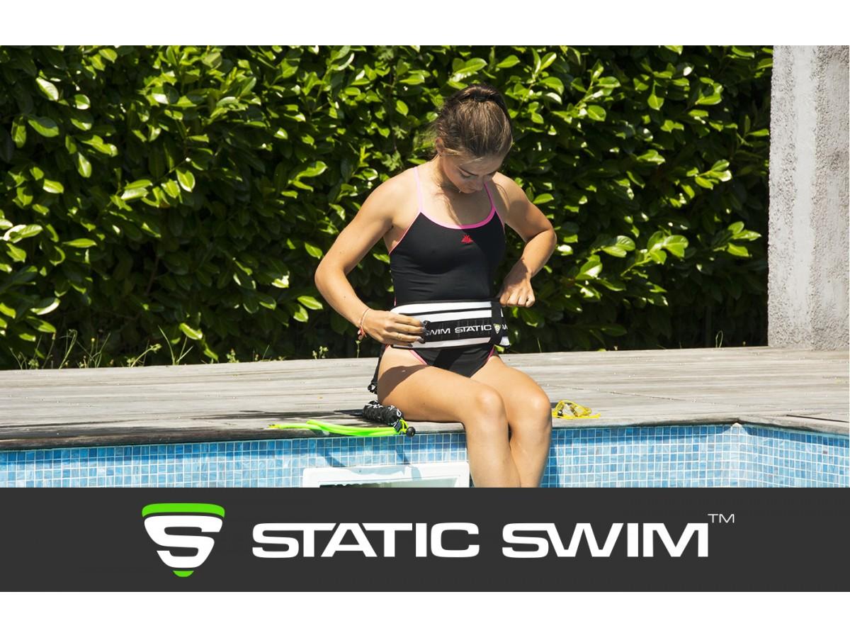 STATIC SWIM™ Adjustable Resistance Swimming Belt.