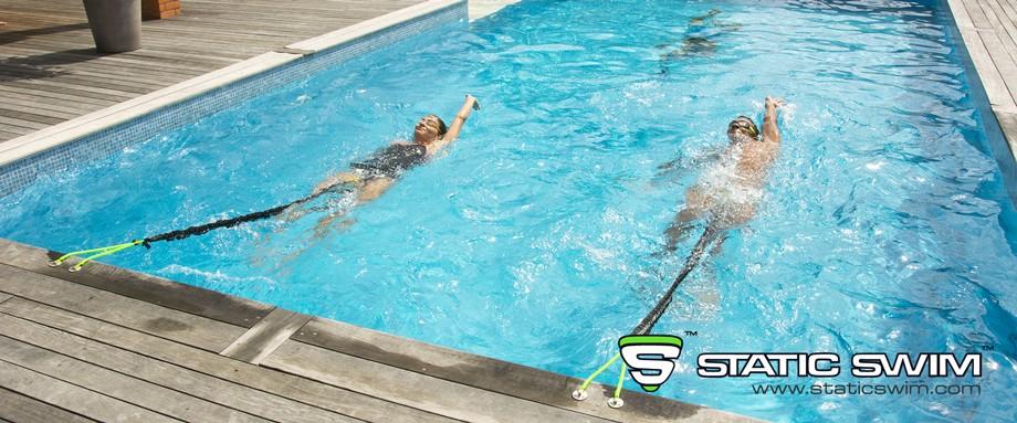 Backstroke with STATIC SWIM™