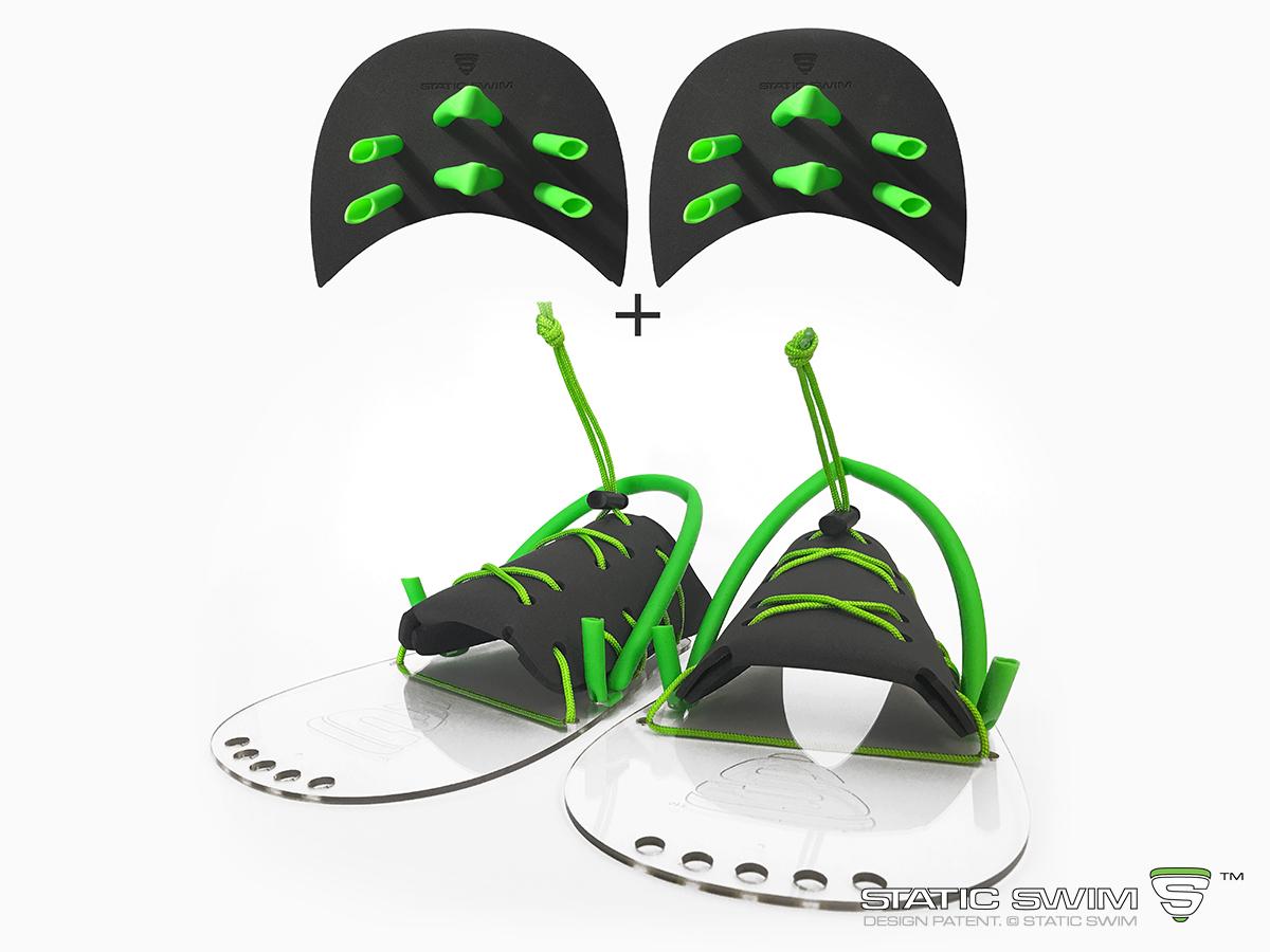 Pack d'accessoires STATIC SWIM™ de FORCE 2 pour nageur de niveau avancé
