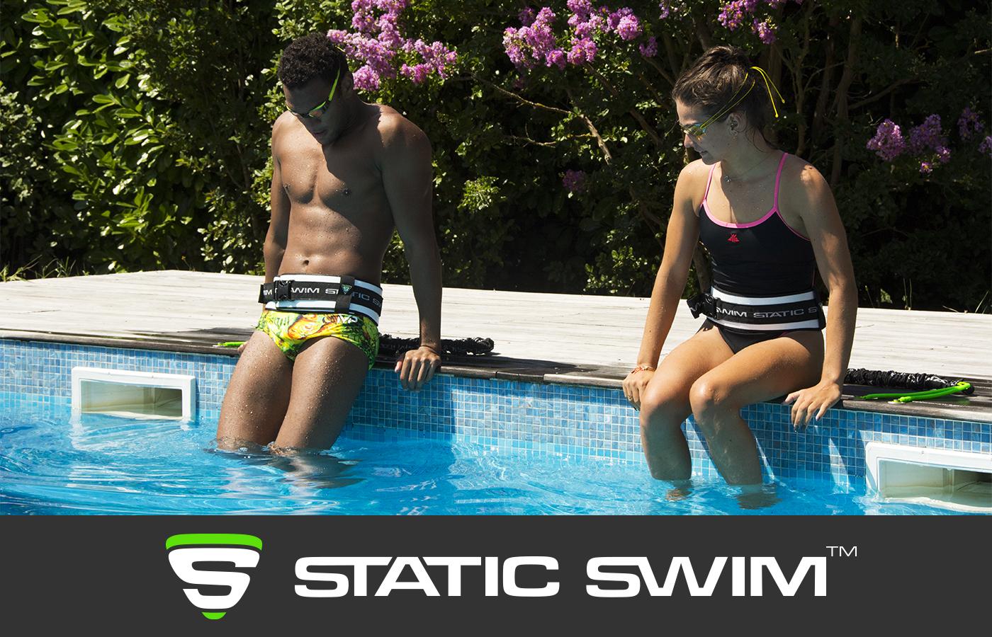 Nage sur place nageurs récupération