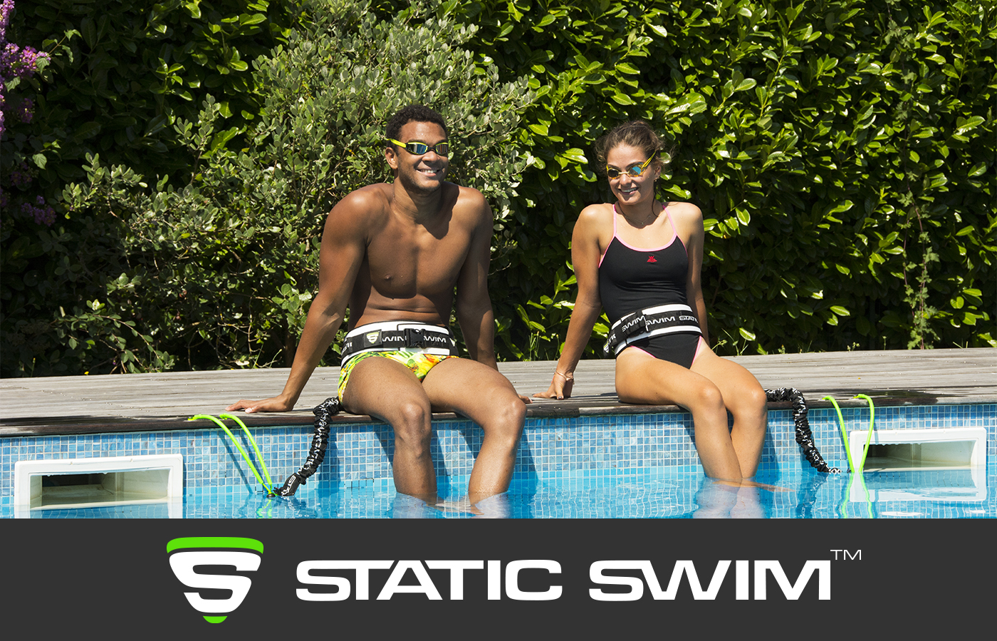 STATIC SWIM™ nageurs piscine