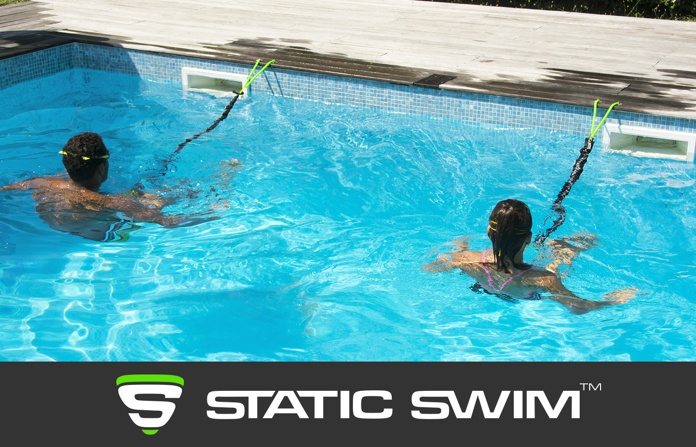 STATIC SWIM™ aquafitness et nage sur place