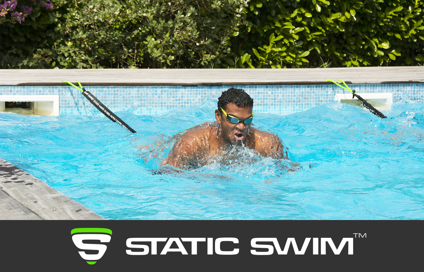 Élastique de nage sur place brasse