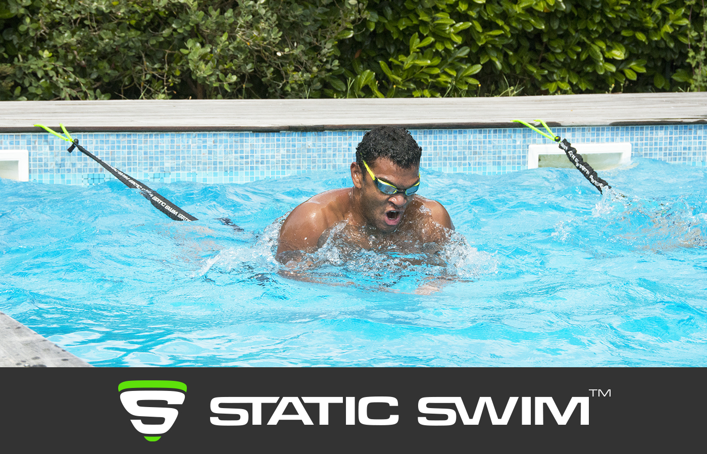 STATIC SWIM™ brasse piscine