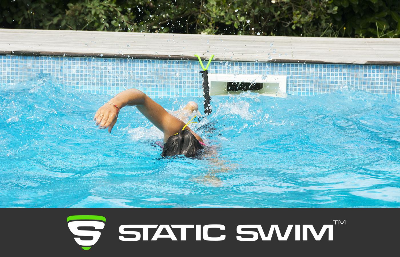 Élastique de nage crawl