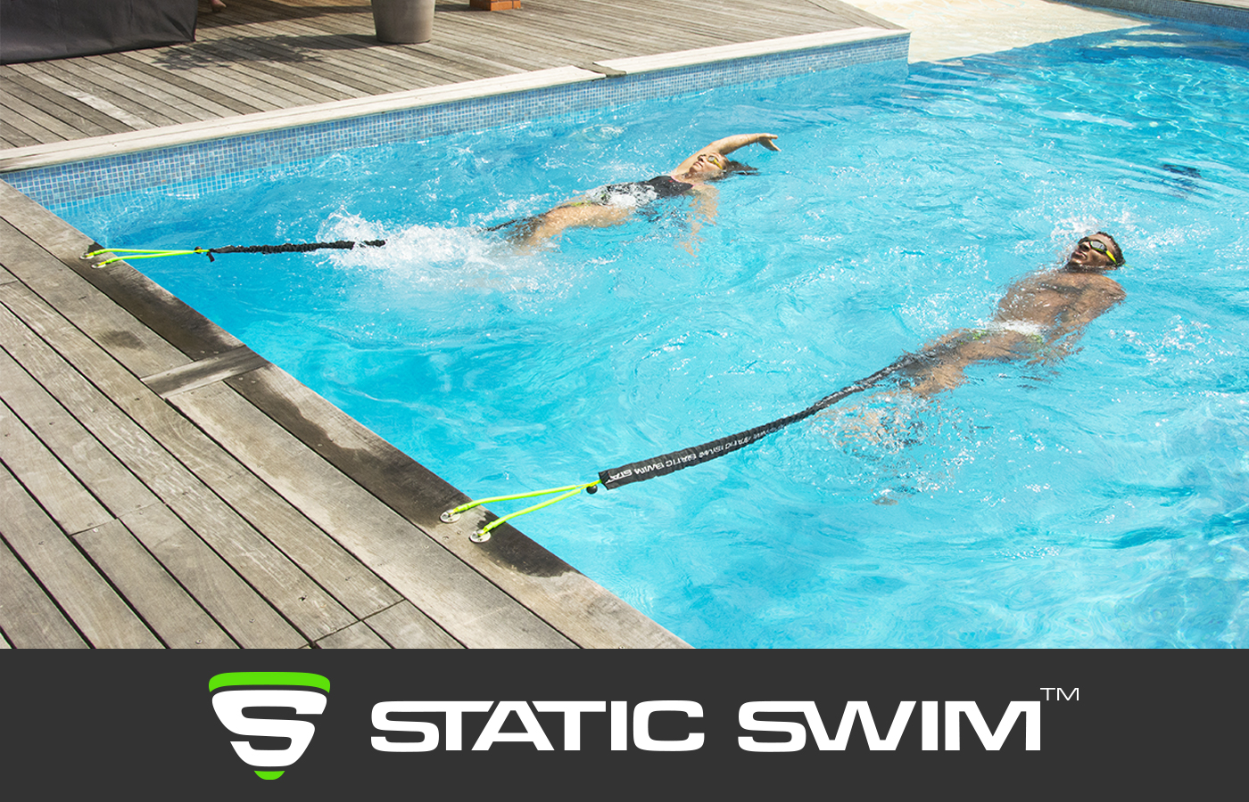STATIC SWIM™ exercices dos crawlé