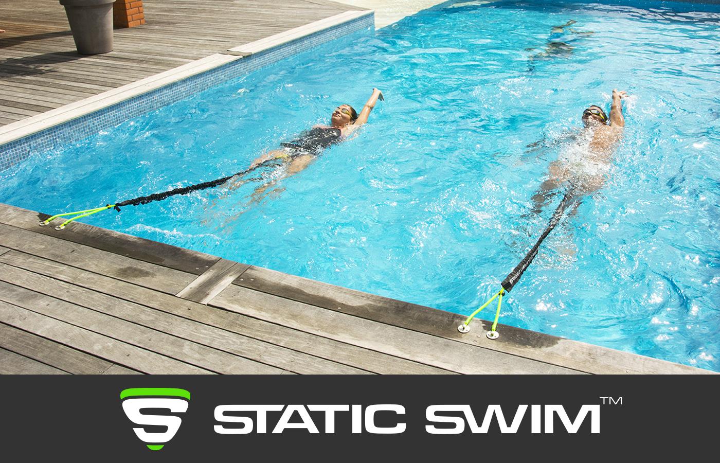 Élastique de nage dos crawlé contre résistance