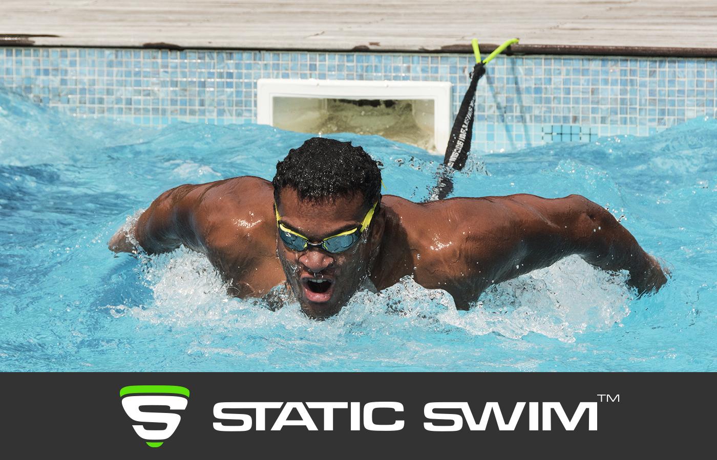 Élastique de nage entraînement papillon