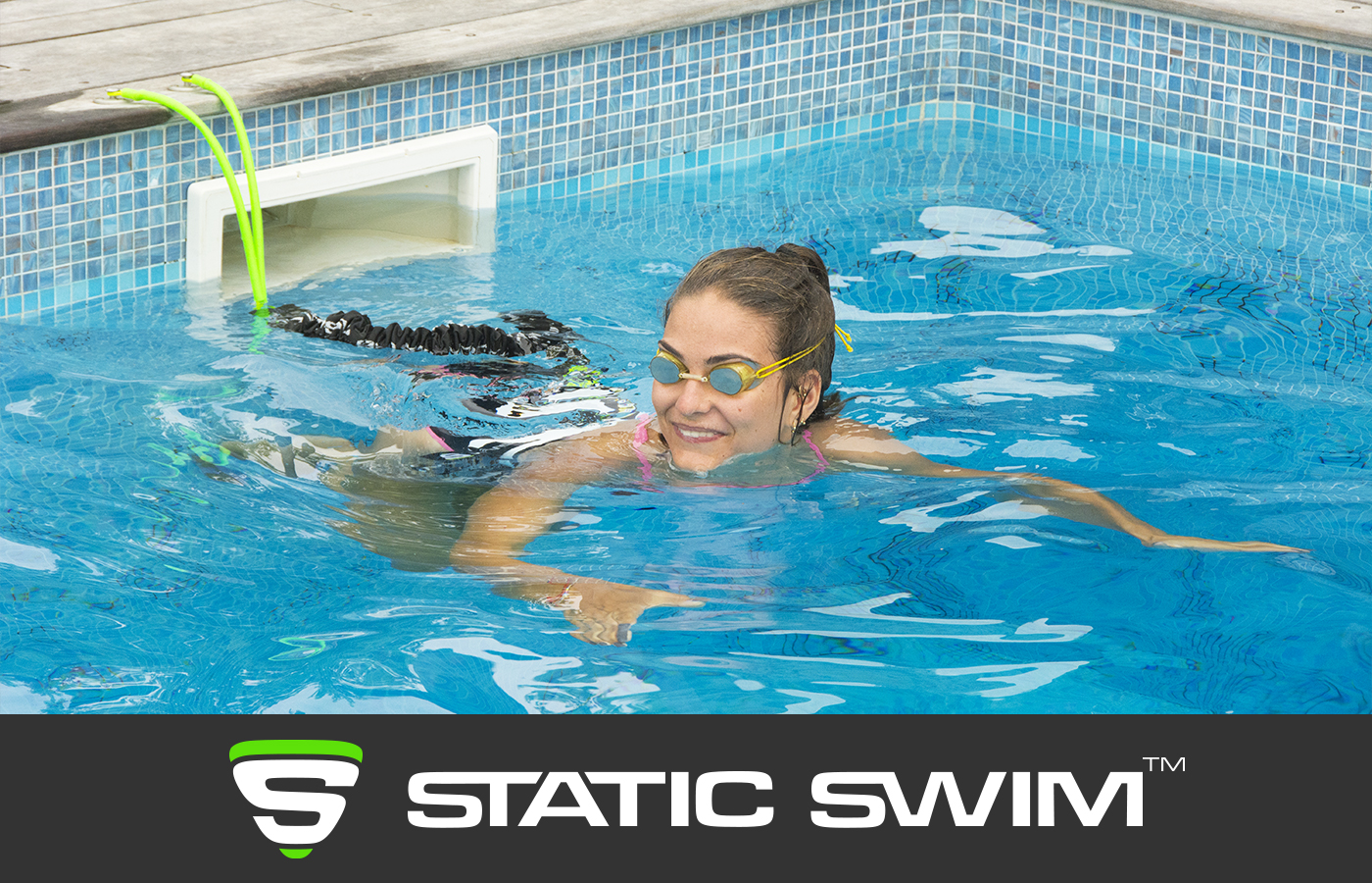 STATIC SWIM™ nageuse pause