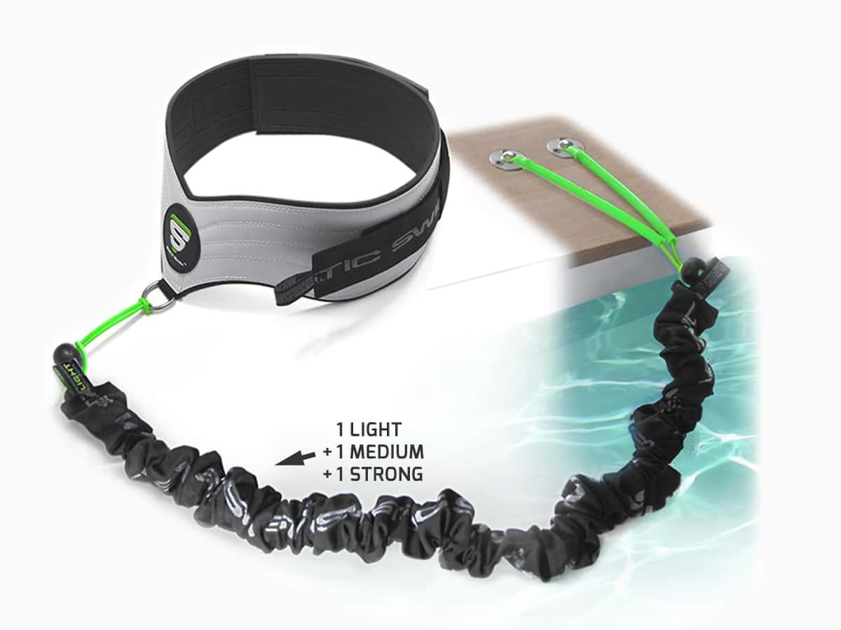 Ceinture et élastique de nage dynamique™ STATIC SWIM™ - piscine bois